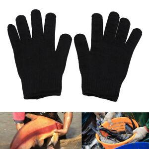 1 Paar Wasserdicht 3 Schnitt Finger Anti-Rutsch Angelhandschuhe Outdoor Sport
