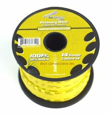 Southwire 55670823 Primary Wire 14-gauge BULK Spool 100-feet Yellow ...