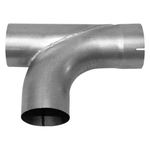 """15/"""" Length 5/"""" Outlet Aluminized Steel Conventional Exhaust Y-Pipe 5/"""" Inlet"""
