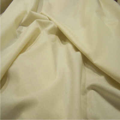 Calico Fabric Cotton Craft Natural Heavy Material Canvas Upholstery Free Sample
