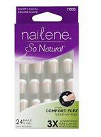 Nailene Short Cut Nail Kit, Ultra Short, 24 Ct.