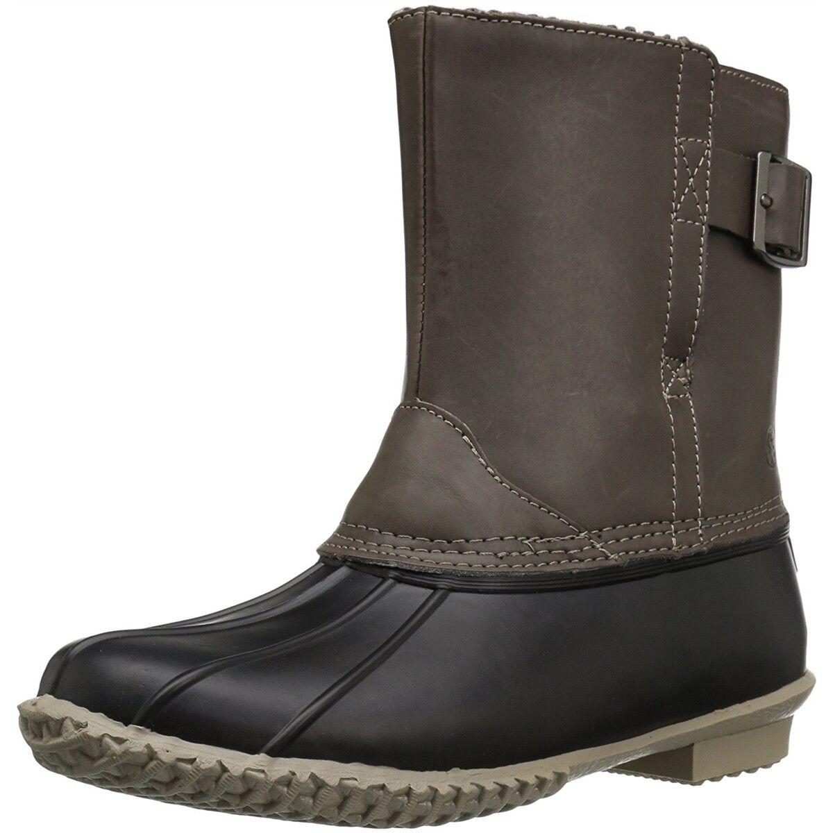 Northside Women Nakoa Waterproof Slip-On Duck Toe Snow Winter Cold Weather Boots