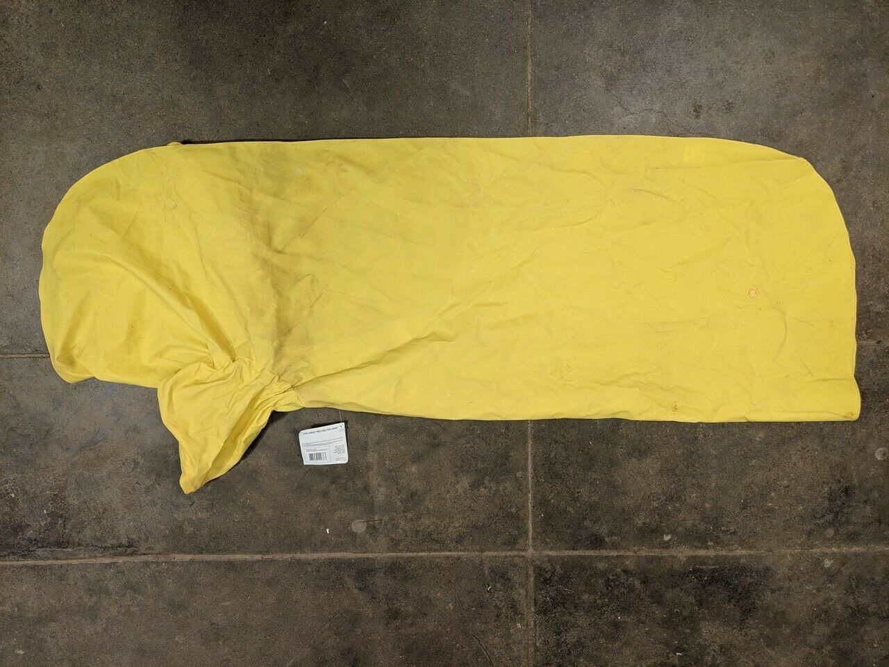 The Pepper Raincoat Yellow XXX Large Item 11037 Dog Raincoat