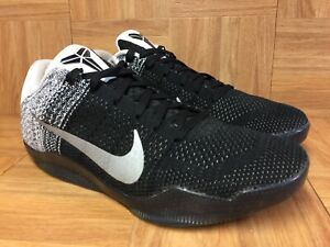 RARE-Nike-Kobe-11-XI-Elite-Low-Flyknit-Last-Emperor-Sz-10-822675-105-Men-s