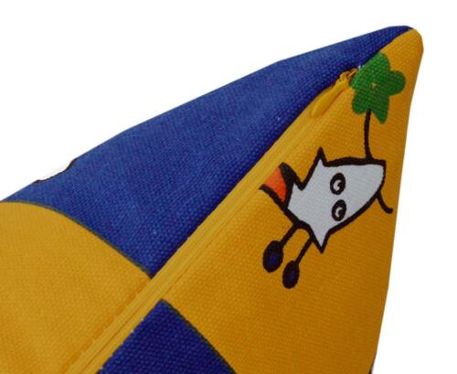 Pillow Cover*Kid/'s Cotton Canvas Sofa Seat Pad Cushion Case Custom Size*AL9