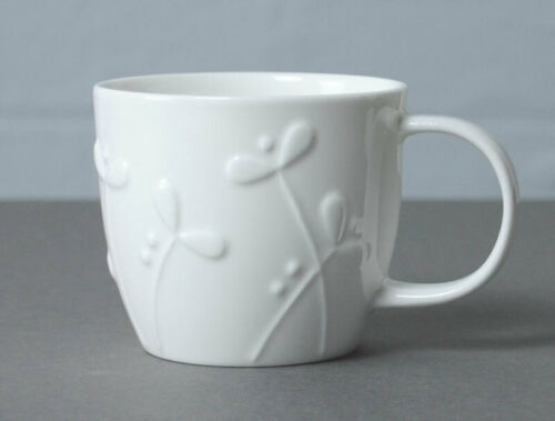 Cress Repeat Repeat Olive White Bone China Small Mug
