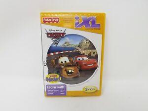 Fisher-Price-iXL-Educational-Learning-Game-Cartridge-New-Disney-Pixar-Cars-2