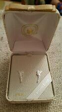 BNIB Walt Disney World Tinkerbell Sterling Silver Stud Earrings