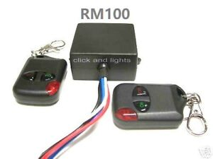 MSD 12V 15A on - off 2 remote control wireless 12V output relay switch RM100