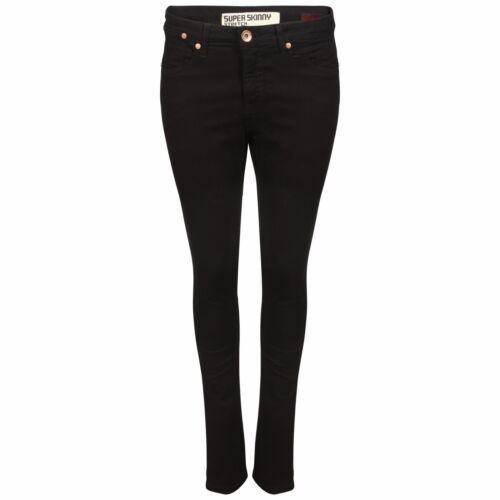 Garçons Hommes Super Bas Utilisé Taille Skinny Slim Jean Extensible Délavé vddqr5w