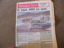 Motoring News 21 February 1980 Snowman Swedish Rally Ken Tyrrell  Audi 80 Test