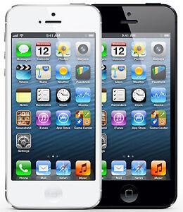 APPLE-IPHONE-5-16GB-32GB-64GB-IN-WEISS-amp-SCHWARZ-OHNE-SIMLOCK-SMARTPHONE