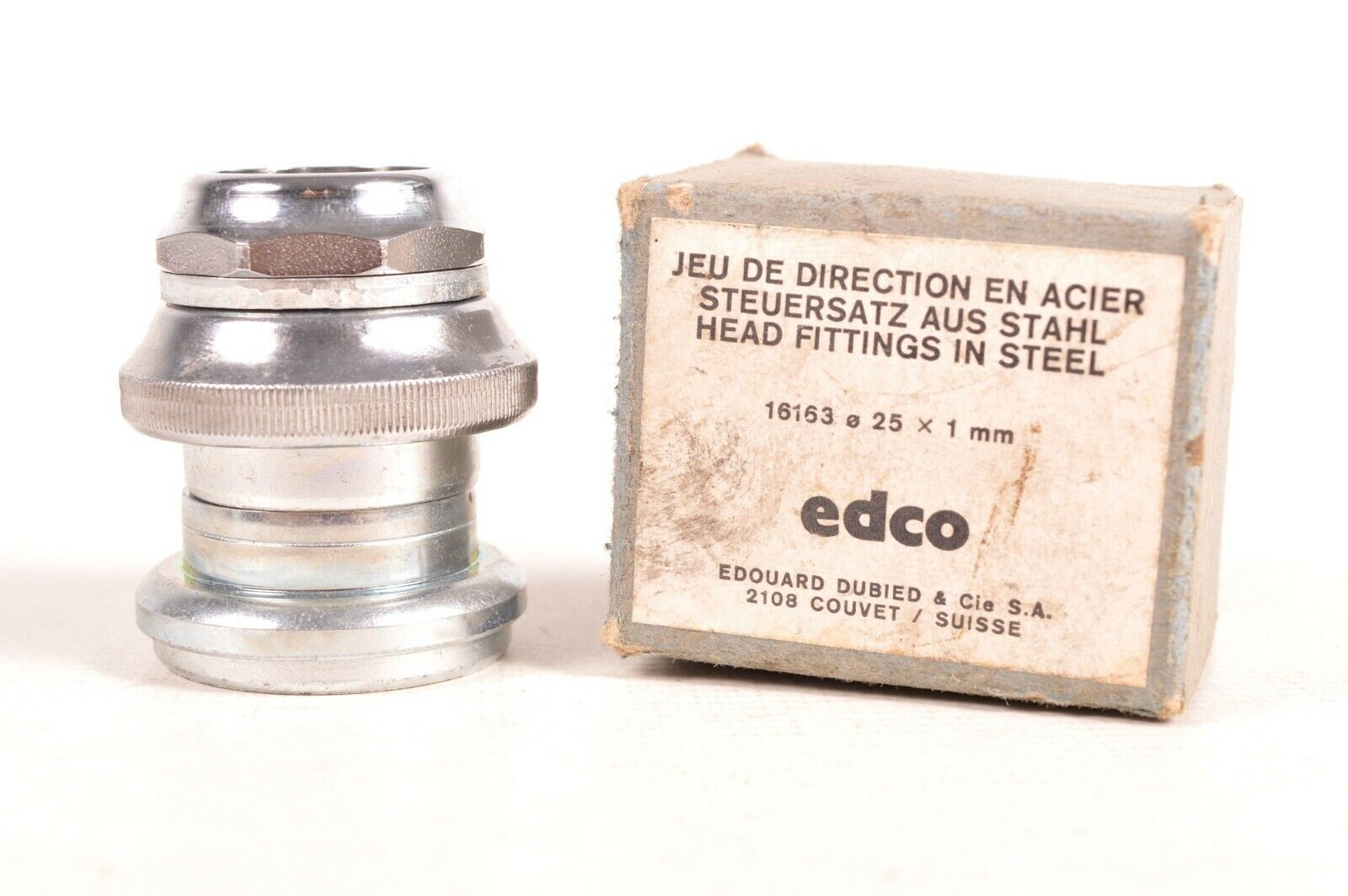 Vintage EDCO Bicycle Headset 1  Threaded Rare NOS NIB