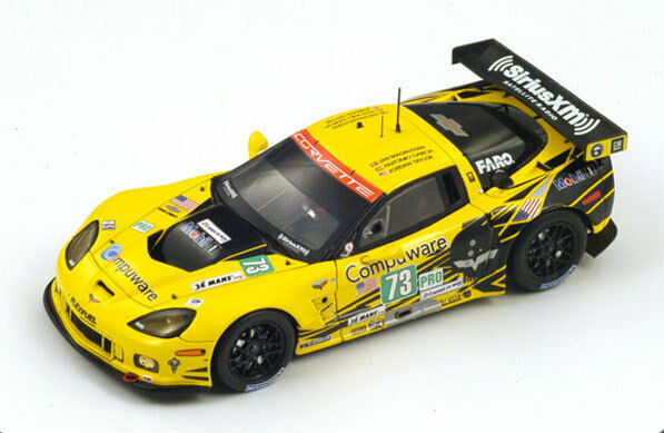 SPARK Corvette C6 ZR1 Le Mans 2012 A. Garcia - Magnussen - Taylor S3728 1 43