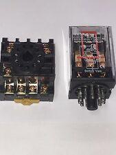 Mk3p I Mk3p Dc 24v Dc Relay 11 Pin 10a 250vac Amp Pf113a Socket Base