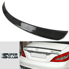 *LA STOCK* CARBON FIBER MERCEDES BENZ W218 4D A TYPE TRUNK BOOT SPOILER CLS350