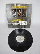 NAPA Present A Concert Behind Prison Walls LP Johnny Cash Loretta Lynn Roy Clark