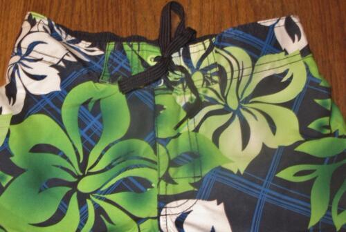 Small~ec Suit Flowers~size Swim Ten Hawaiin Bathing Hang Sm Trunks~colorful Boys UzxIP6U