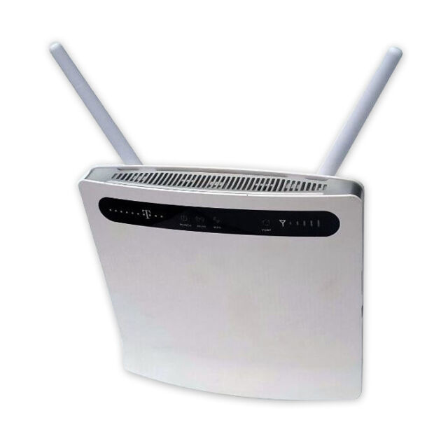 Telecom Speedport LTE 2/II Router WLAN Huawei B593/4G/3G with 2 Aerial