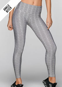 NEW-Womens-Lorna-Jane-Activewear-Herringbone-Core-A-B-Tight