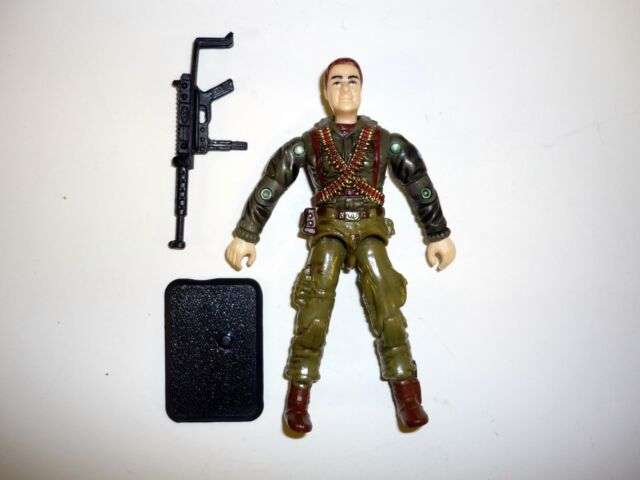 GI JOE CROSSFIRE Action Figure COMPLETE 3 3/4 C9+ v1 2001