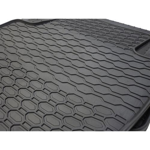 Gummifussmatten Audi A4 8E B6 B7 vorn hinten Satz 4-tlg Gummimatten Fußmatten