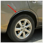 2PCS WHEEL ARCH GUARD TRIM / WHEEL ARCH PROTECTOR UNIVERSAL SOFT RUBBER BLACK