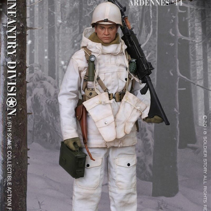 Pre-ordine 1/6 SoldierStory SS111 U.S. ARMY 28th Infantry Division Ardenne