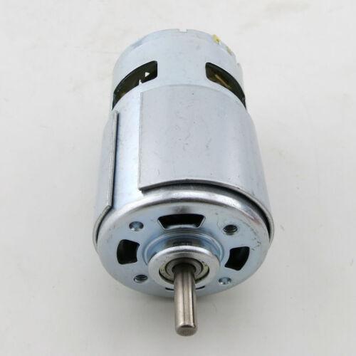1pcs DC12V 15600rpm RS-775 High Speed Large Torque DC Motor Ball Bearing for DIY