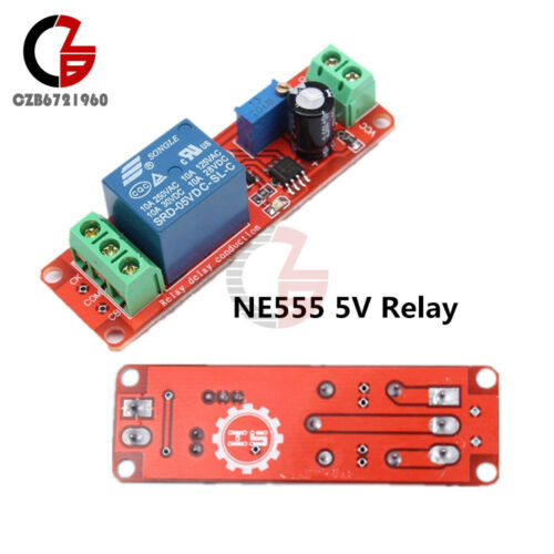 NE555 DC 5V Conduction Delay Relay Shield Timer Trigger Switch Adjustable Module