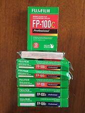 (4) Fuji Fujifilm FP-100C, (2) Fuji Fujifilm FP-100B - (60 exposures) - expired