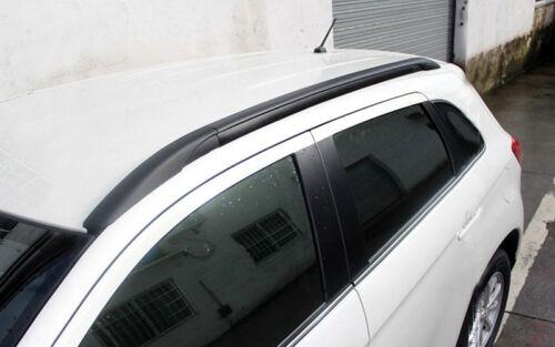 Black Roof Rack  Rails Bars Luggage For Mitsubishi ASX RVR Outlander Sport 10-18