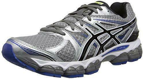 9bb2f544fec ASICS GEL Evate 2 Running Shoes Mens 8 Gray Black Blue T4a2n 9790 ...