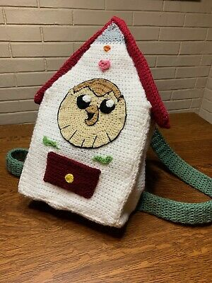 """Crocheted Hooty Backpack from """"The Owl House"""" 