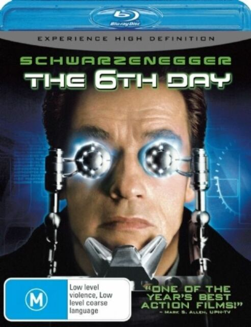 The 6th Day (Blu-ray, 2008)   q217