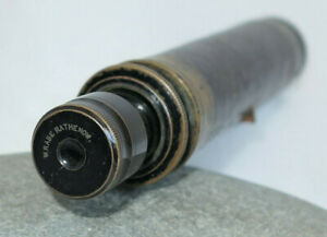 ANCIENNE-LONGUE-VUE-W-RABE-RATHENOW-19TH-XIXe-ANTIQUE-TELESCOPE-MONOSCOPE