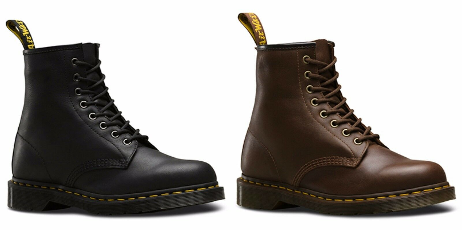 Dr.Martens Mens 1460 Carpathian Lace Up Boots Black and Tan