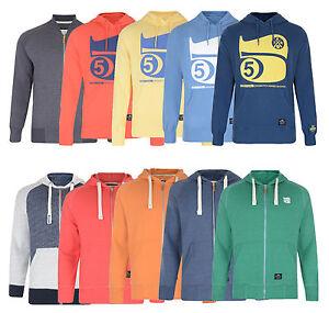 Crosshatch-New-Men-s-Hoods-amp-Sweatshirts-Printed-Plain-Hoodies-amp-Zip-Tops