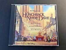 The Hunchback of Notre Dame [Original Soundtrack] by Alan Menken (CD, Oct-1996, Walt Disney)