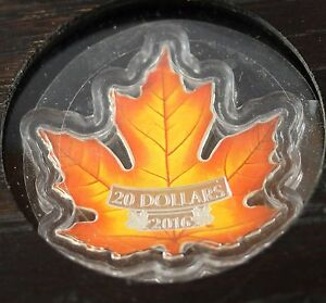 2016-Canada-039-s-Colourful-Maple-Leaf-RCM-Proof-Silver-20-Coin