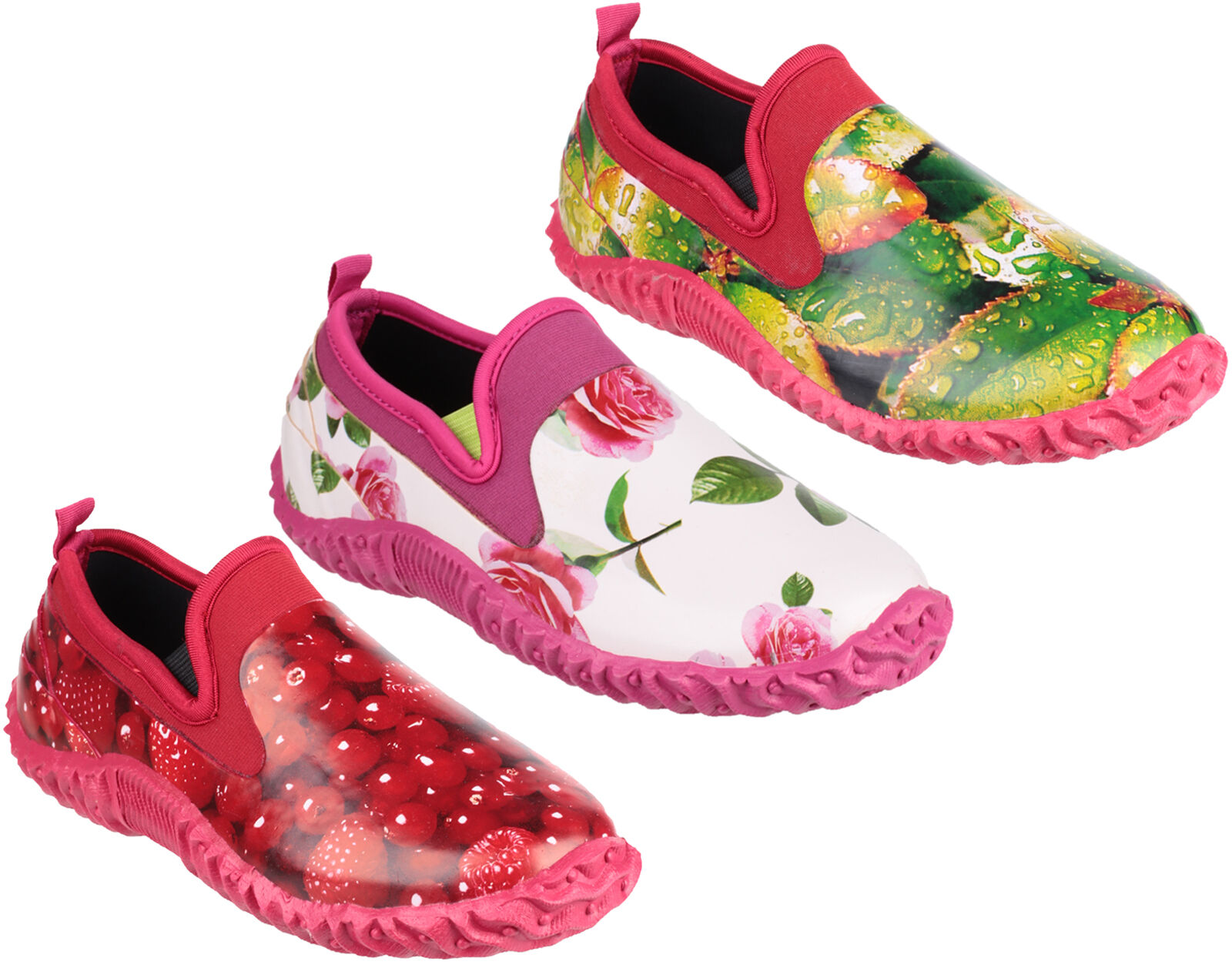 Cotswold Jardinería Tindal Zuecos Jardín Mujer botas Agua Zapatos3-8