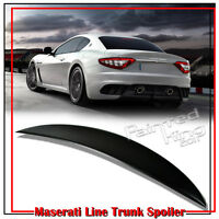 stock In La Unpaint Maserati Gran Turismo Coupe Gt Mc Coupe Trunk Spoiler 08-14