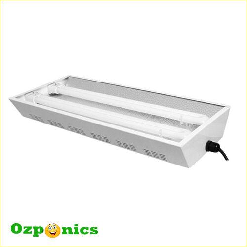 HYDROPONICS 6400K T5 PROPAGATION LIGHT - 2x55W Fluoro Tubes Included
