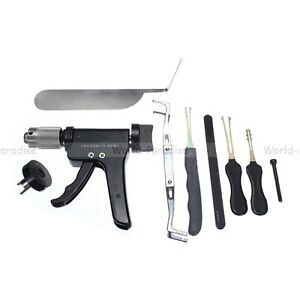 lockpicking lock pick set tool unlocking opener set locksmith kit de crochetage