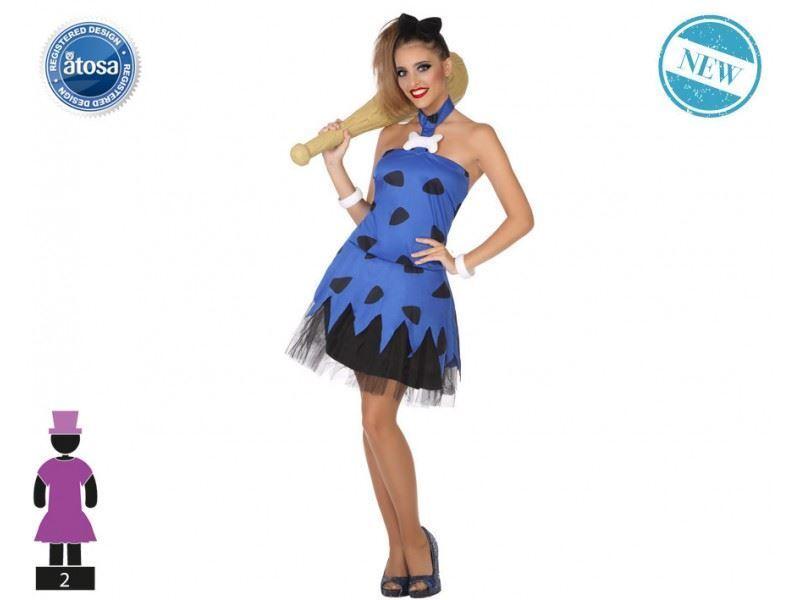Prix Bas Avec Atosa 53880 Costume Flinstones Fred T-2 Uomo Primitivo Pourtant Pas Vulgaire