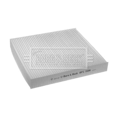 S/'adapte ISUZU D-Max 2.5 CRDi Genuine Borg /& Beck cabine Pollen Intérieur Filtre à air