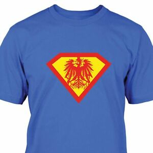 Superman-Osterreich-T-Shirt