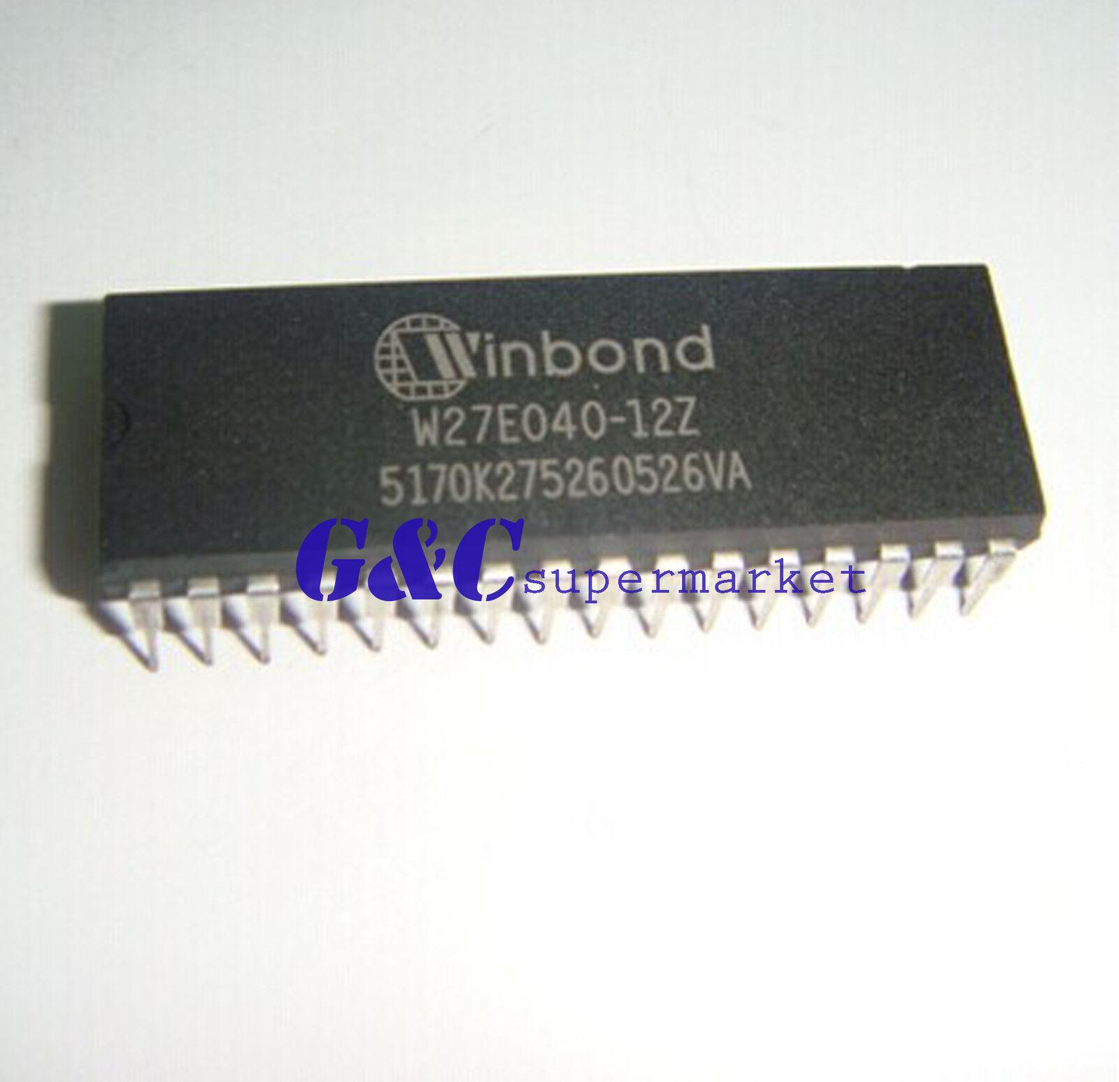 W27E040-12 W27E040 DIP-32 EProm IC Winbond