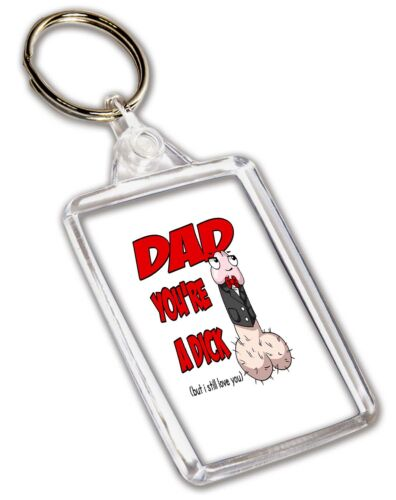 You/'re A Dick But I Love U Dad Funny Rude Birthday Fathers Day Christmas Gifts
