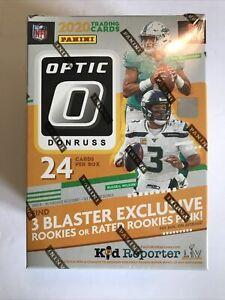 2020 Panini NFL Donruss Optic Football (Cello Pack, Hanger, Blaster & Mega Box)
